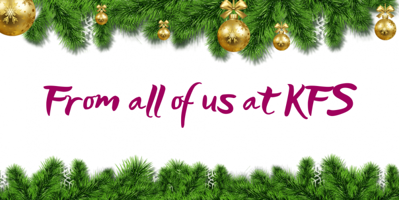 Merry Christmas from all of us at KFS